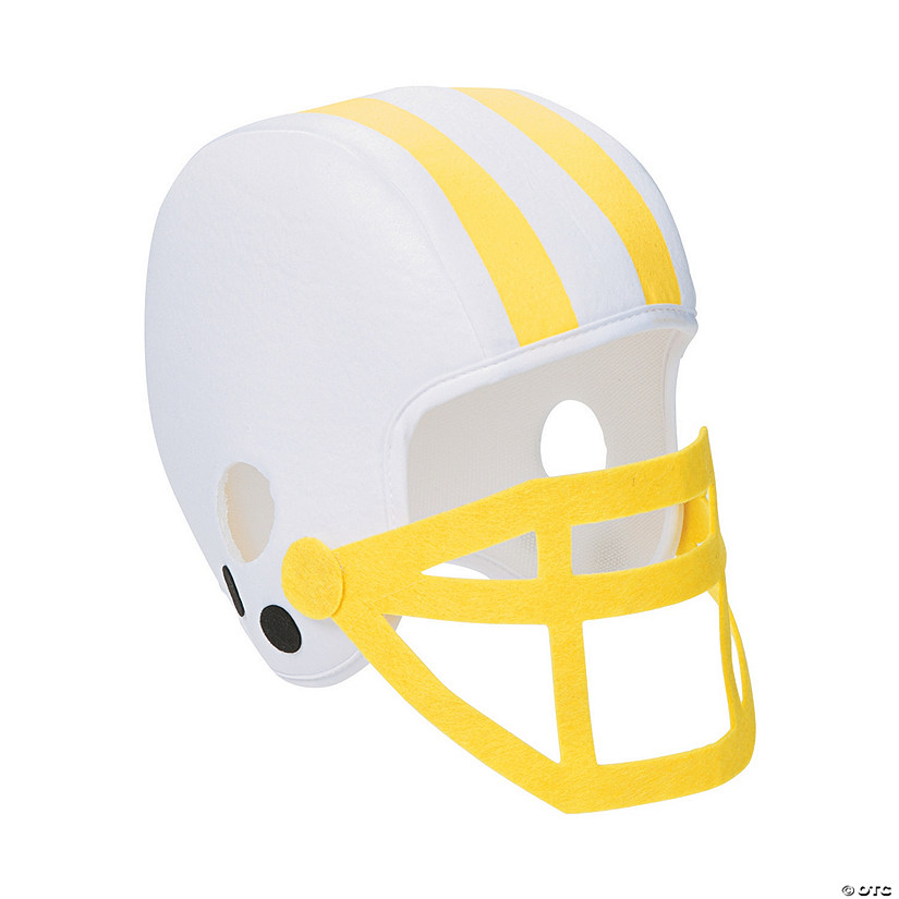 Yellow Team Spirit Football Helmet Audio Thumbnail