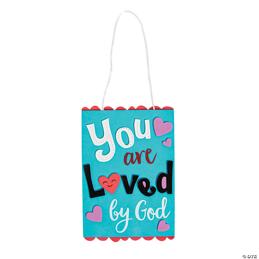You Are Loved By God Sign Craft Kit