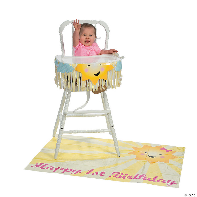 You Are My Sunshine 1st Birthday High Chair Decorating Kit13743061