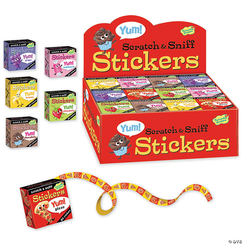 Yum! Scratch & Sniff Boxed Set Audio Thumbnail