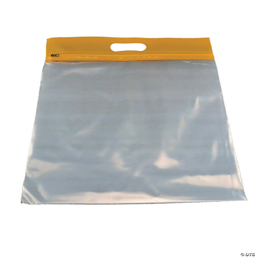 ZIPAFILE® Storage Bag, Yellow, Pack of 25 Image Thumbnail
