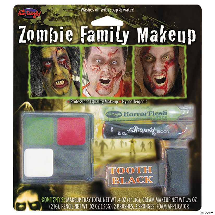 Zombie Family Makeup Kit Audio Thumbnail