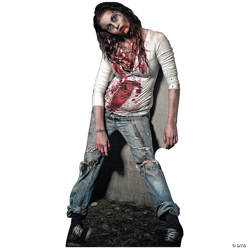 Zombie Girl Cardboard Stand-Up Audio Thumbnail