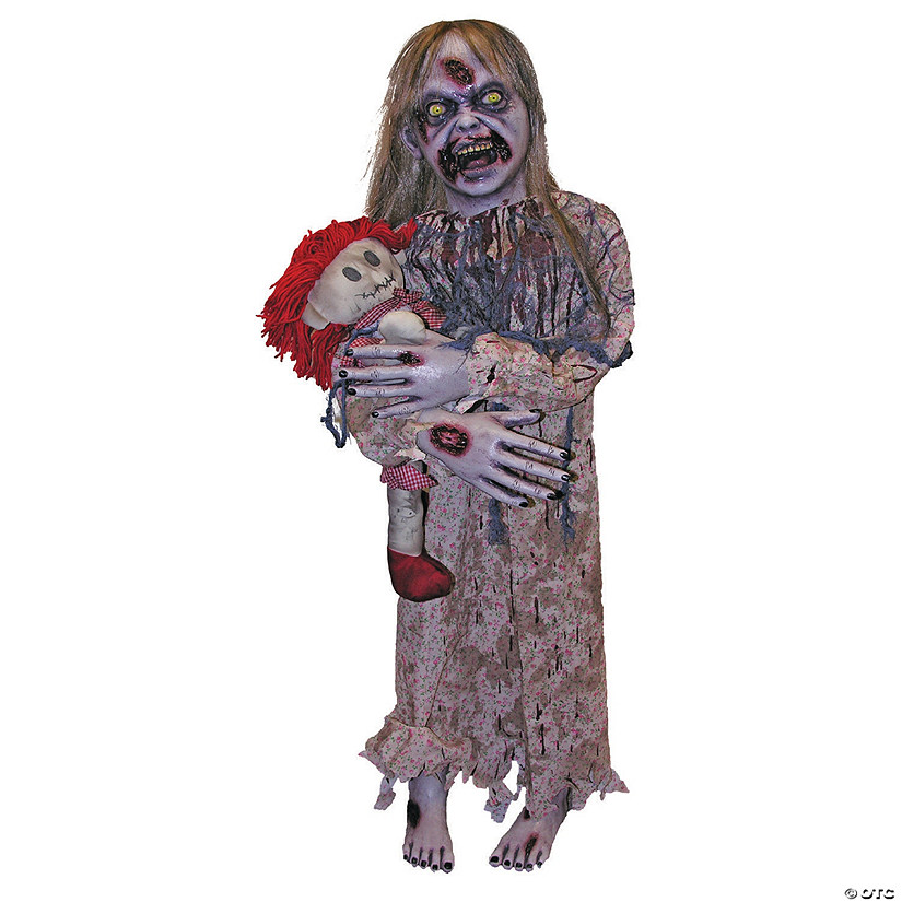 Zombie Girl Prop Halloween Decoration Audio Thumbnail