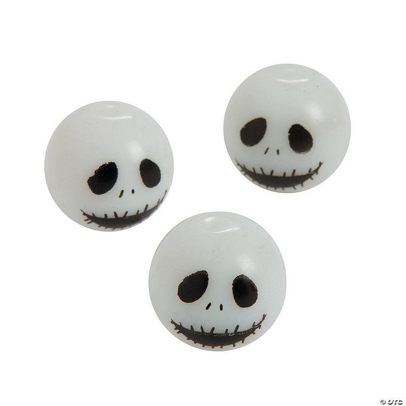 Zombie Glass Beads - 14mm a 1mm hole