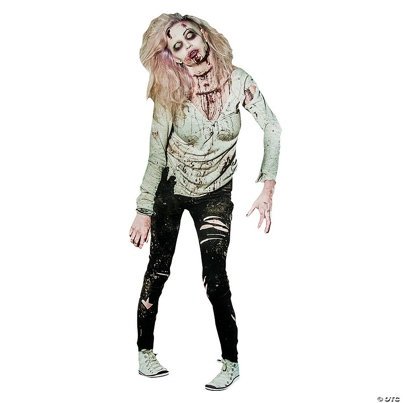 Zombie Woman Jointed Cutout Audio Thumbnail