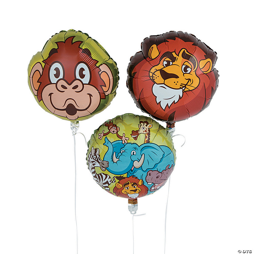 "Zoo Adventure 18"" Mylar Balloons Audio Thumbnail"