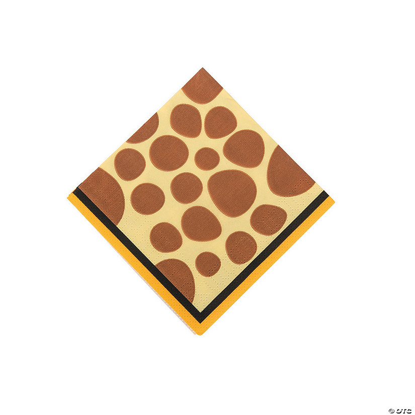 Zoo Adventure Beverage Napkins