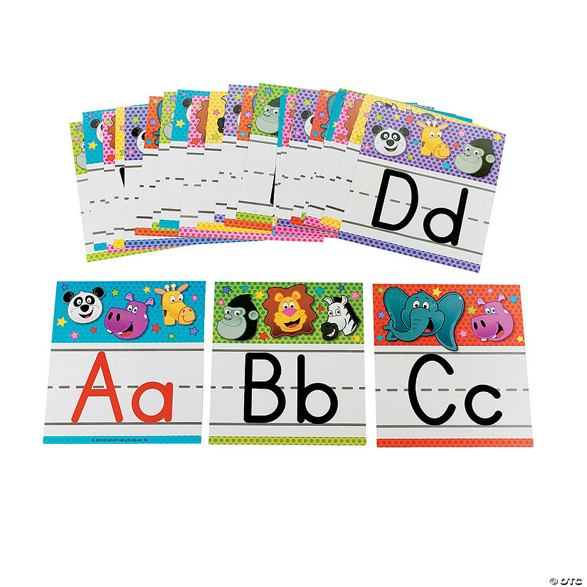 Zoo Animal Alphabet Letter Set Audio Thumbnail