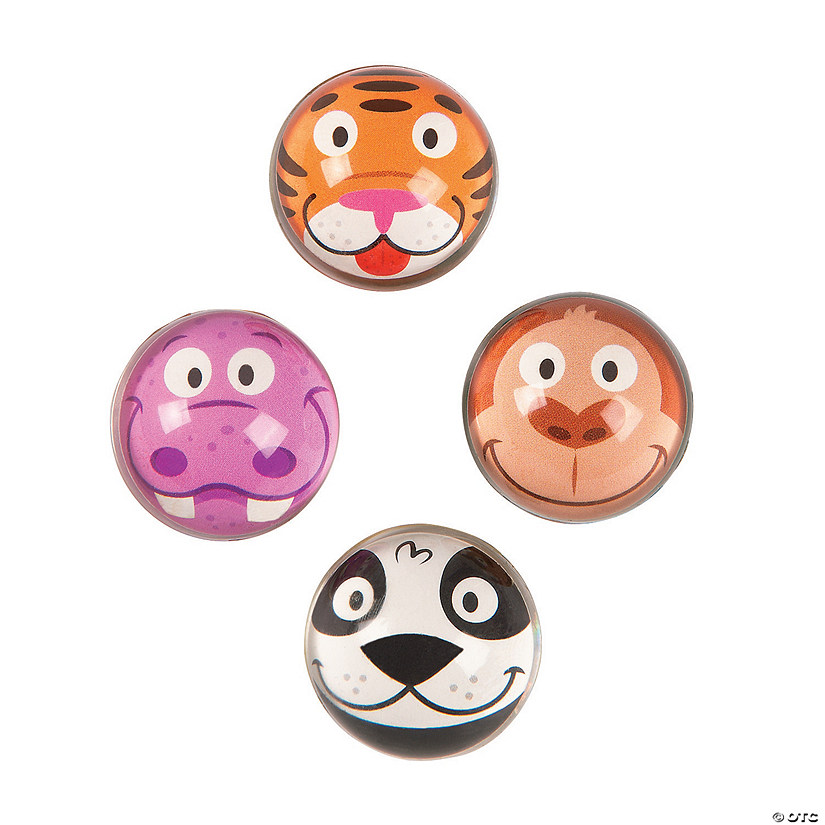 Zoo Animal Bouncy Ball Assortment Audio Thumbnail