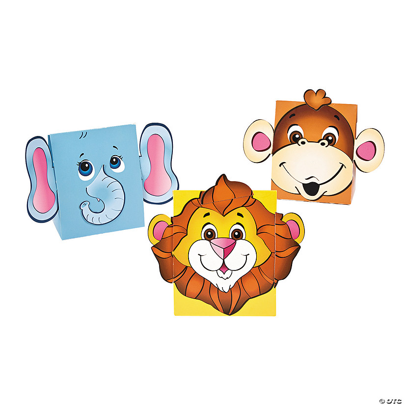 Zoo Animal Favor Boxes
