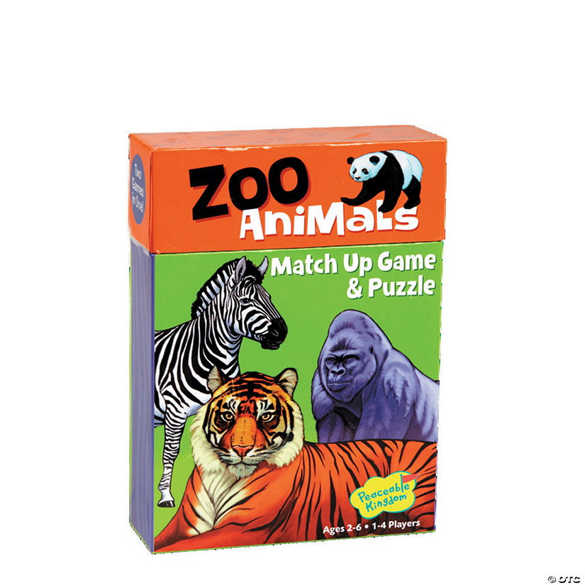 Zoo Animal Match Up Game Image Thumbnail