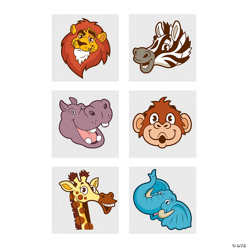 Zoo Animal Temporary Tattoos Audio Thumbnail