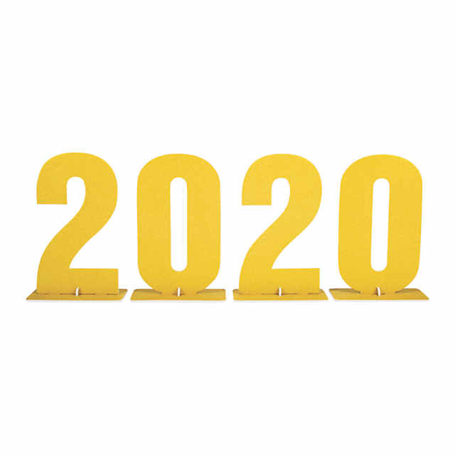 Oriental Trading Graduation 2020.2020 Tabletop Sign