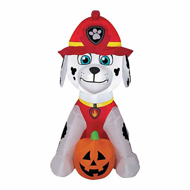 Airblown Marshall With Jack O Lantern Halloween Decoration