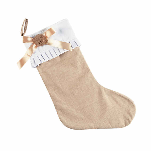 Burlap Christmas Stockings.Burlap Christmas Stocking Discontinued