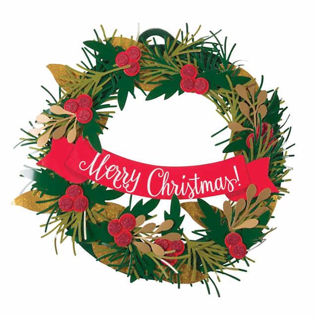 Christmas Wreath.Christmas Wreath Craft Kit