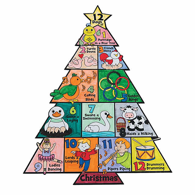 Own 12 Days of Christmas Posters