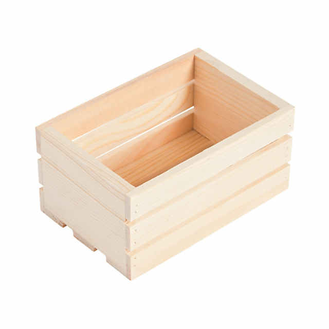 Diy Unfinished Wood Mini Crates