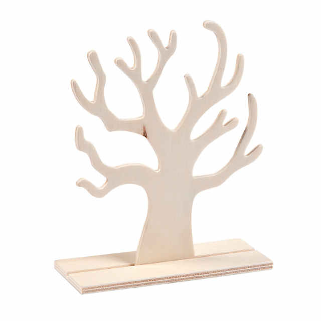 Diy Unfinished Wood Tree Stand Ups Discontinued