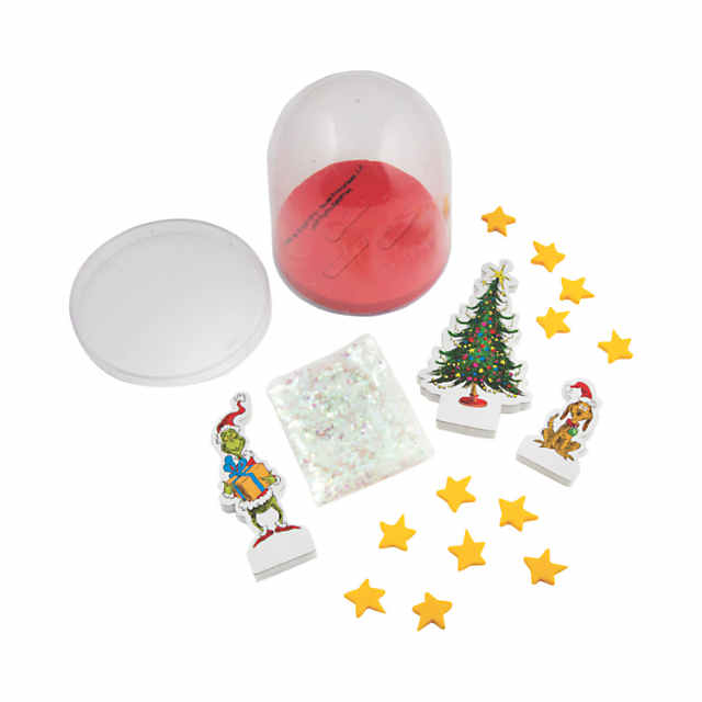 Christmas Grinch.Dr Seuss The Grinch Christmas Snow Globe Craft Kit