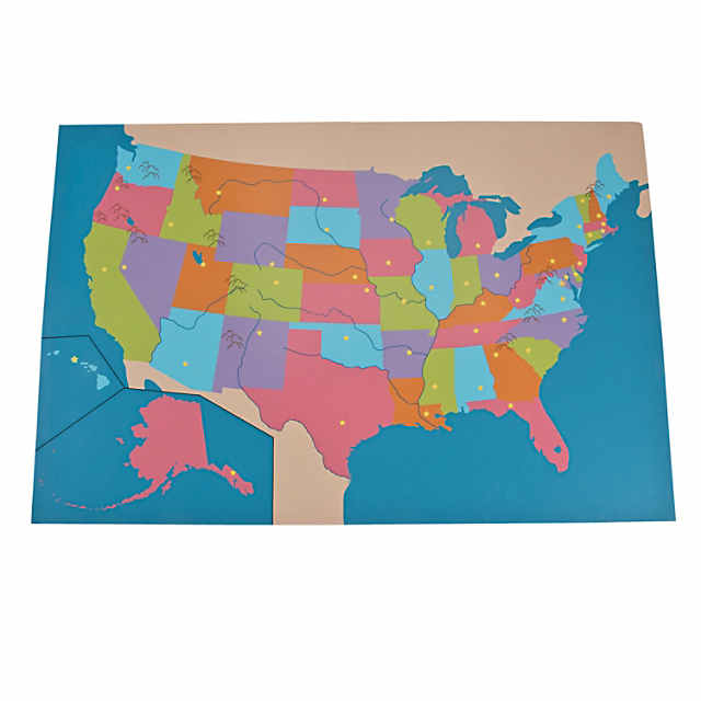 Dry Erase United States Map - Discontinued on