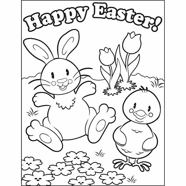 Easter Coloring Contest Sheets - Discontinued
