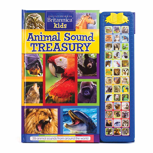 Encyclopaedia Britannica Kids - Sound Storybook Treasury: Animal Sounds