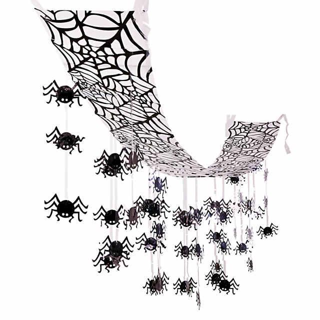 Hanging Spider Ceiling Halloween Decoration