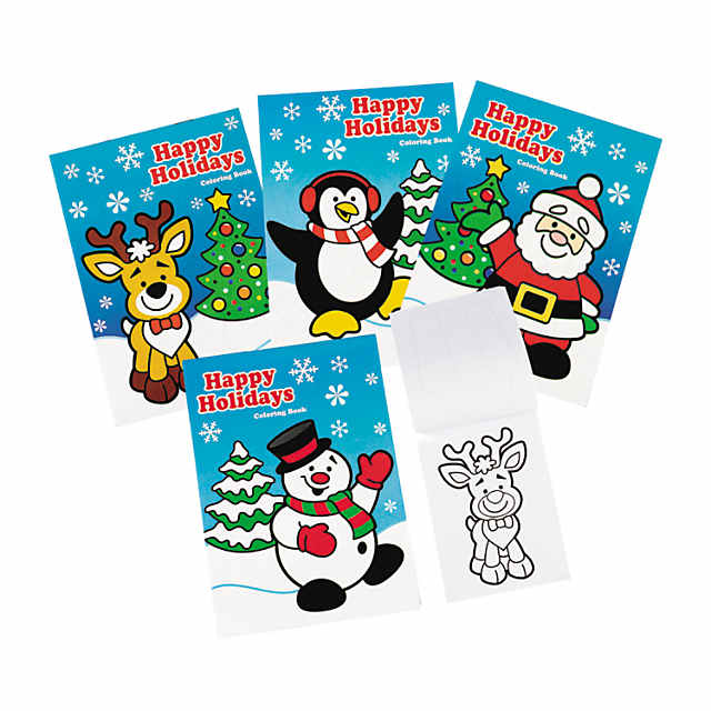 - Holiday Coloring Books Oriental Trading
