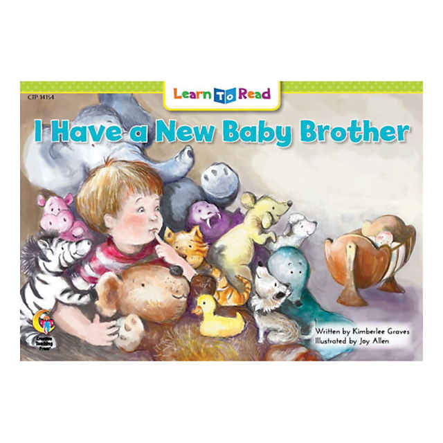 Learn To Read I Have A New Baby Brother Qty 6
