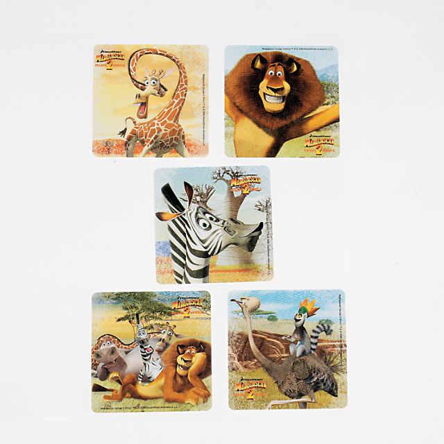 Madagascar: Escape 2 Africa Stickers - Discontinued