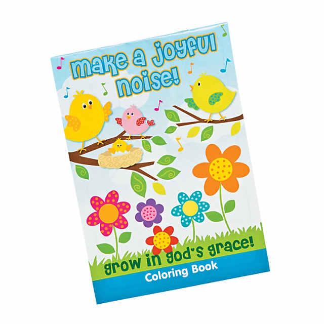 "Make A Joyful Noise"" Coloring Books - Discontinued"