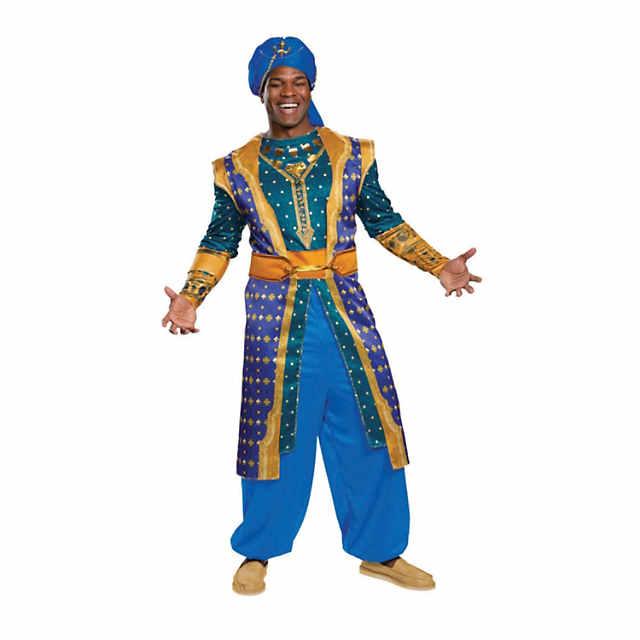 Men S Deluxe Aladdin Live Action Genie Costume