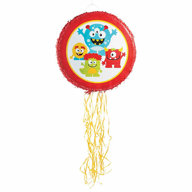 Mini Monster Pull-String Piñata