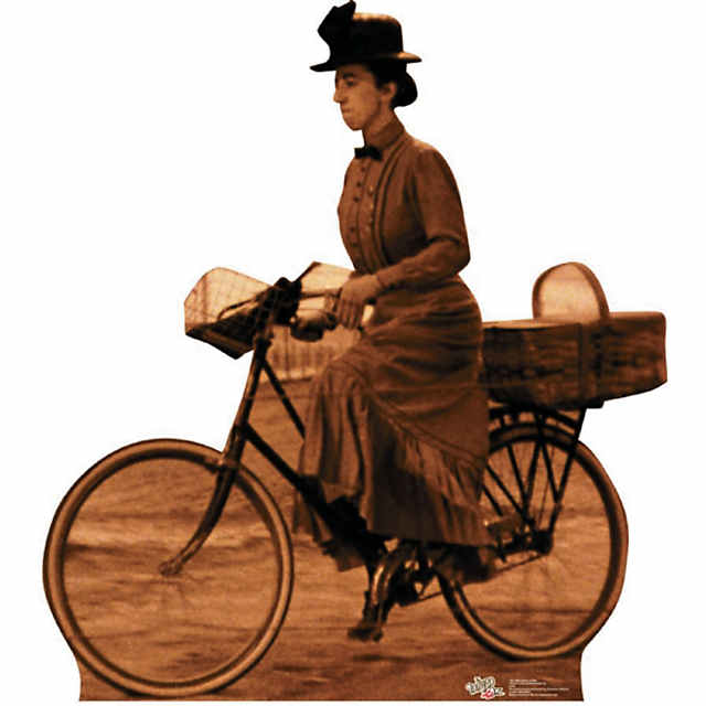 Miss Gulch On Bike - Wizard Of Oz Cardboard Stand-Up