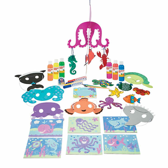 Ocean Animal Craft Pack Assortment Discontinued
