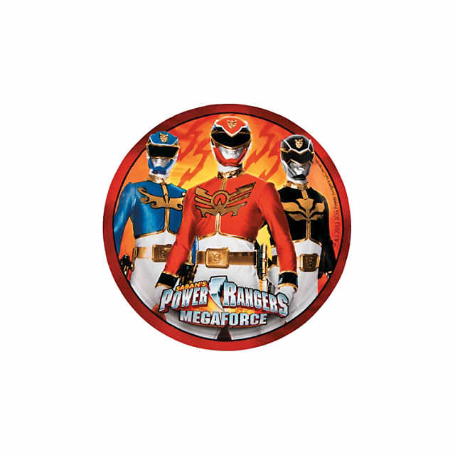 Miraculous Power Rangers Megaforce Dessert Plates 8 Ct Discontinued Funny Birthday Cards Online Inifodamsfinfo