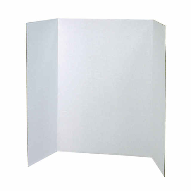 Presentation Board White Single Wall 48 X 36 Pack Of 12