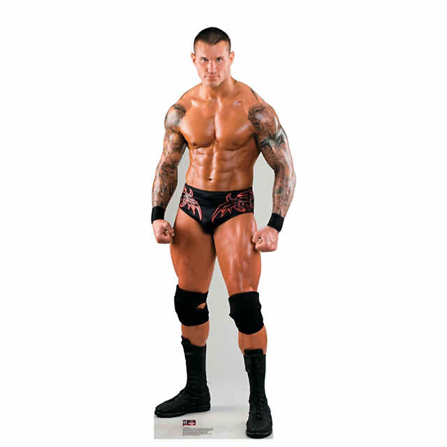 Randy Orton Ready To Wrestle Wwe Cardboard Stand Up