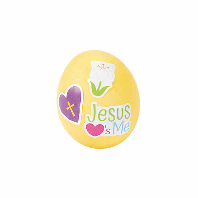Religious Easter Egg Decorating Stickers
