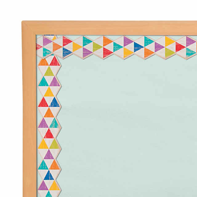 Rustic Triangle Bulletin Board Borders - Discontinued
