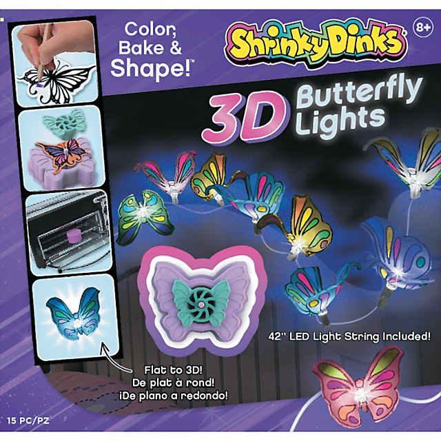 Shrinky Dinks 3-D Butterfly Lights - Discontinued