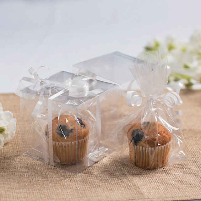 Small Clear Cellophane Gift Bags