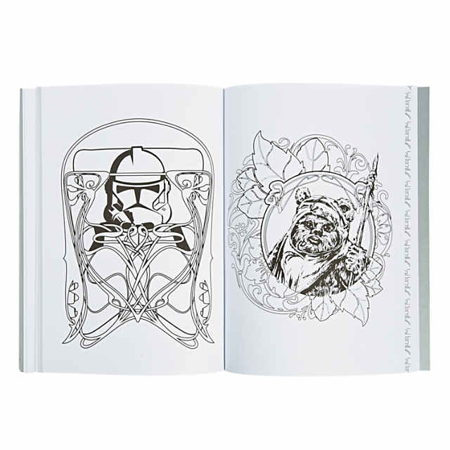 Star Wars Adult Coloring Book Discontinued