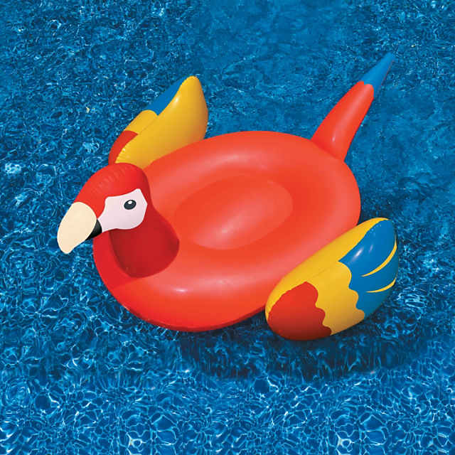 Swimline Inflatable Giant Parrot Pool Float