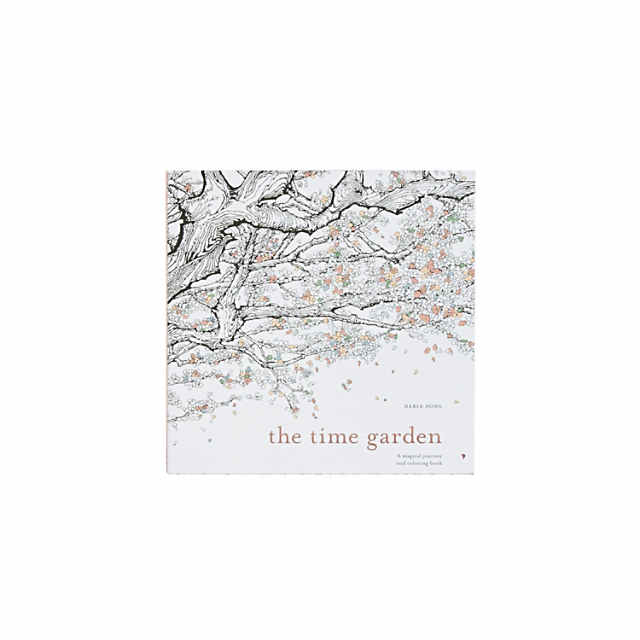 The Time Garden Adult Coloring Book Discontinued
