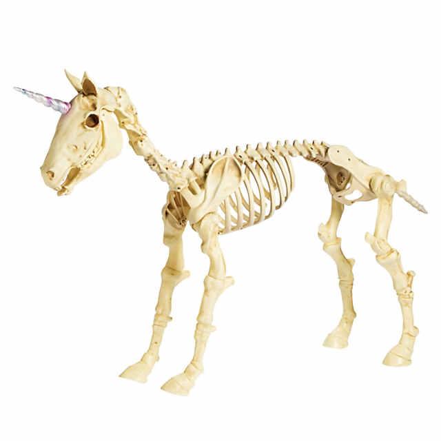 Halloween Skeleton.Unicorn Skeleton Halloween Decoration