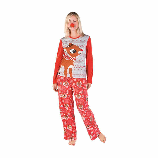 273f963cdfb3 Women s Rudolph the Red-Nosed Reindeer sup ®   sup Pajamas ...