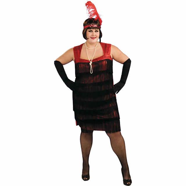 Women\'s Plus Size Flapper Costume